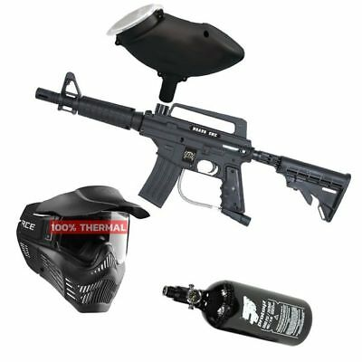 Paintball Set Tippmann Bravo One, inkl. V-Force Thermal Maske + HP + Munbox