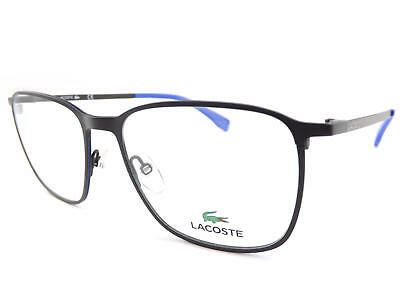 Lacoste Dark Matt Braun/Blau 53mm Metall Rx Optisch Brillengestell L2233 210