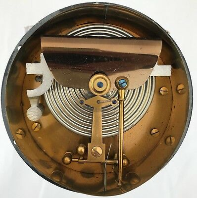 COLLECTABLE Large Aneroid Barometer Movement Backplate Parts Spares