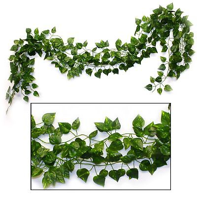 Safari Jungle Party Supplies Cafe Decor Plastic Vine Leaf Decorations Pack Of 4