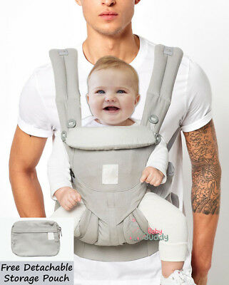 9ee220ab377 Original Ergo Omni 360 Newborn Baby Infant Toddler Carrier Sling Wrap Pearl  Grey U.K. Seller - Free Delivery   Free Returns - In Stock