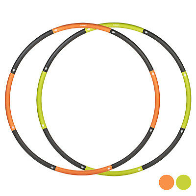 Mirafit Smooth Weighted Gym Hula Hoop Fitness Workout/Exercise Ring Hoola 1m Abs