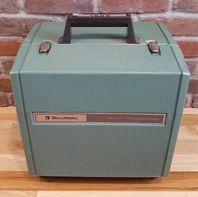 Bell & Howell 1592 Movie/Film & Sound Projector 16MM *TESTED AS IS*