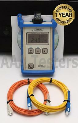 AFL NOYES OPM 4-4C Fiber Optic Power Meter OPM4 OPM4-4
