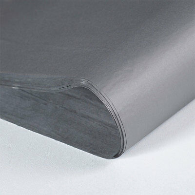 480 Sheets Grey Tissue Paper 500x750 Acid Free