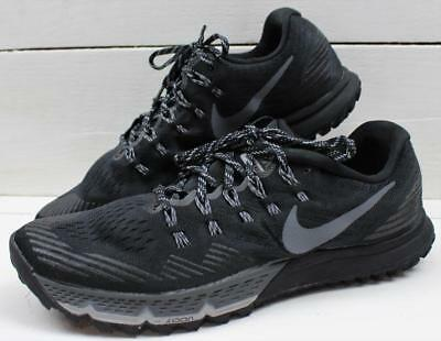 29e74ca48a3 Nike Zoom Terra Kiger 3 Mens Black Wolf Gray Running Shoes Sneakers Size  10.5