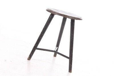 1x Old Bemeta Stool Art Deco Workshop Stools Vintage Buildhouse Design Chair