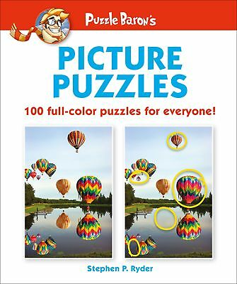 NEW Puzzle Baron's Picture Puzzles: 100 all-color puzzles for everyone
