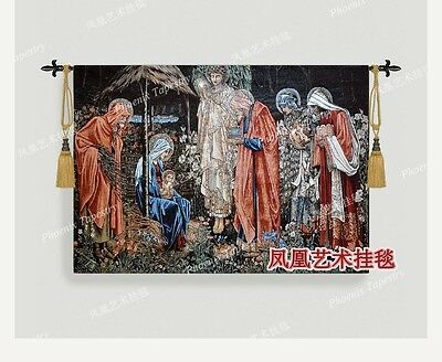 European religious painting style pure Home Hotel Restaurant Cafe tapestry