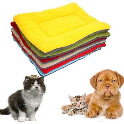 New Small Medium Large Dog Pet Crate Kennel Warm Bed Mat Pad Sleep Blanket