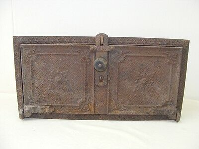 Beautiful Old Oven Door Antique with Frame