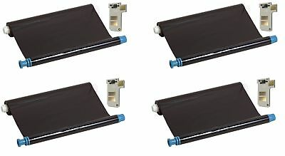 4x Compatible Ink-Film Faxfilm Replaced Philips Pfa351 with Chip Magic 5