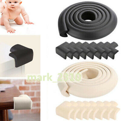 Baby Safety Bumper Strip Corner Edge Cushion Table Cover Protector Soft Foam Pad