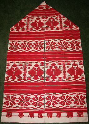 1900s Vtg Ukrainian KROLEVETS RUSHNYK Rushnik Towel Imperial Double-headed Eagle