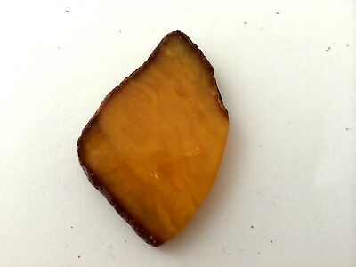 Natural Antique vintage Baltic amber stone  #5814