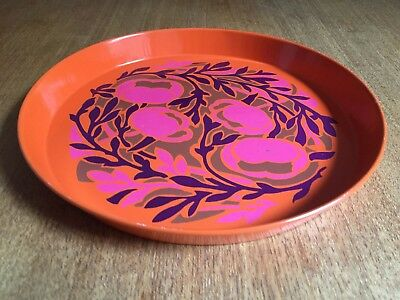 Vintage Retro Metal Serving Tray