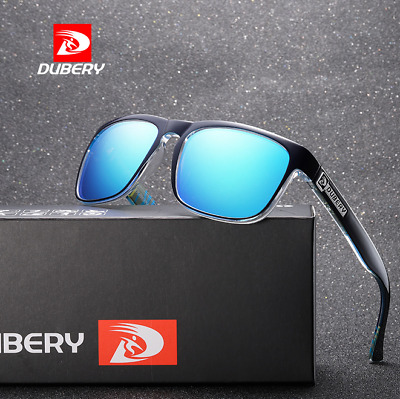 DUBERY Men Sport Polarized Sunglasses Outdoor Driving Fishing Riding Glasses