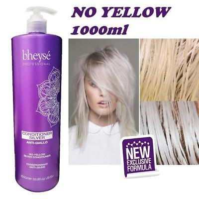 Balsamo Silver AntiGiallo No Yellow Bheysè Professional 1000ml - Renèe Blanche