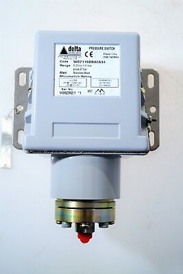 Delta Controls Pressure Switch 0.25 Bar - 1.6 Bar
