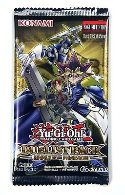 Konami Yu-Gi-Oh! TCG Shonen Jump, Rivals of the Pharaoh Booster Pack, New