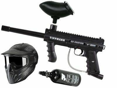 Paintball Set Tippmann 98 Custom Ultra Basic, inkl. 0,8l HP + JT Maske + Munbox