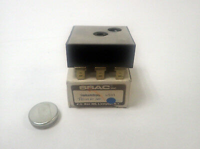 Ssac Th1A61300 Solid State Delay Timer, 230 Vac, 6A, 300 Sec