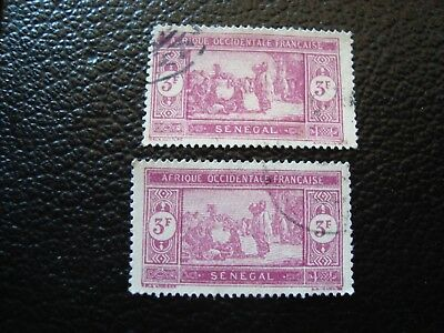 SENEGAL - stamp yvert/tellier n° 109 x2 cancelled (A5)