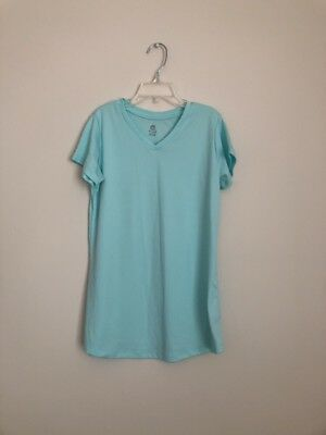 Champion Girls Active Wear Shirt Top Teal  Size  XL 14-16