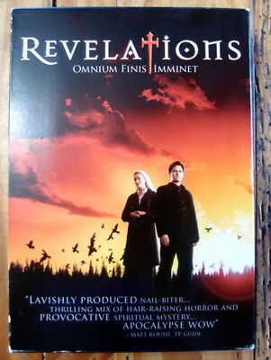 Revelations DVD, 2-Discs, 6 espisodes, watched once, Bill Pullman