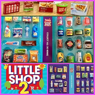 Coles Little Shop Mini Collectables - INDIVIDUALLY PRICED **CHEAP PRICE**