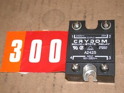 Crydom A2425 Solid State Relay 90-280VAC Input 240VAC 25A Output Free Ship