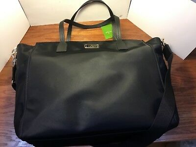 KATE SPADE NY BLAKE ave kaylie baby bag diaper bag black #wkr44309 authentic
