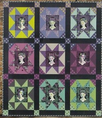 Enchanted -  easy modern pieced quilt PATTERN - 3 Dog Design Company