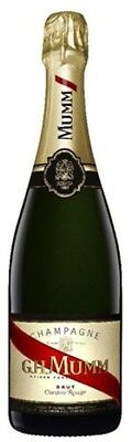 Mumm Cordon Rouge NV Champagne 750mL ea - Sparkling Wine - Origin France