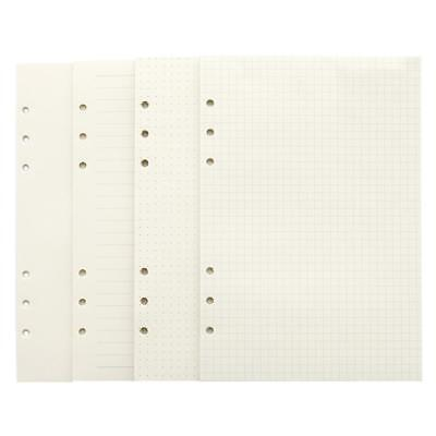 6 Holes Inner Paper Core for A5/A6 Spiral Binder Planner Notebook Hot! EB