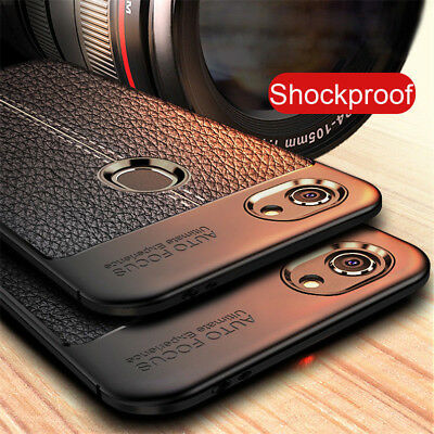 For OPPO F9 F7 F5 F3 A37 A3S Shockproof Rubber Soft TPU Leather Back Case Cover