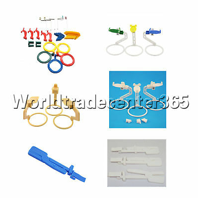Dental Oral X-Ray Film Sensor Positioner Holder Clip Locator Instruments Set