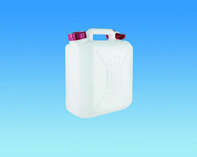 10L cold fresh water jerry can container selfbuild CAMPER t4 t5 Bongo MOTORHOME