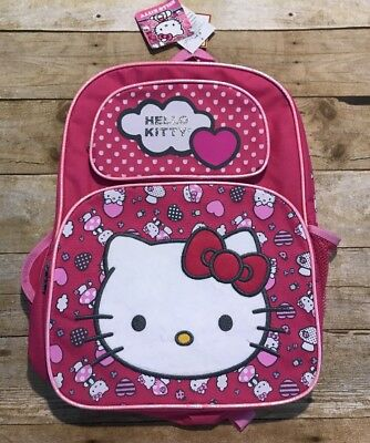 dca744524c SMALL BACKPACK - Hello Kitty - Pink New School Bag Book Girls 81400 ...