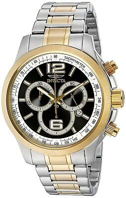Invicta 0080 Men's Specialty Chronograph 45mm Black Dial Watch