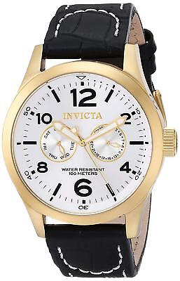 Invicta 12172 Specialty Men's 48mm Gold-Tone Stainless Steel Silver Dial Watch