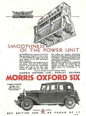 The Morris Oxford , Retro metal Aluminium Sign Vintage Garage shed Man Cave wall