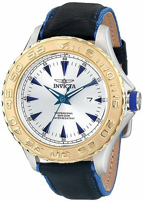 Invicta 12615 Men's Pro Diver 47mm Silver Dial Watch