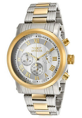 Invicta 15213 Men's Specialty Chronograph 46mm Silver Dial Watch