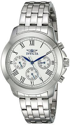 Invicta 21653 Specialty Women's 37mm Chronograph Stainless Steel Silver Dial
