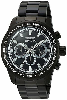 Invicta 21815 Men's Speedway Chronograph 48mm Black Dial Watch
