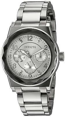 Invicta 22107 Angel Women's 38mm Stainless Steel Silver Dial Watch