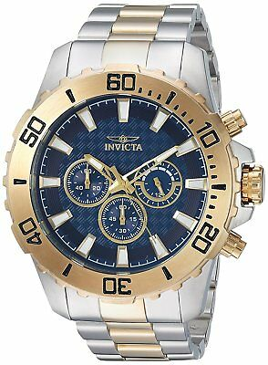 Invicta 22548 Men's Pro Diver Chronograph 50mm Blue Dial Watch