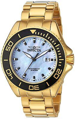 Invicta 23071 Men's Pro Diver 48mm Platinum Dial Watch