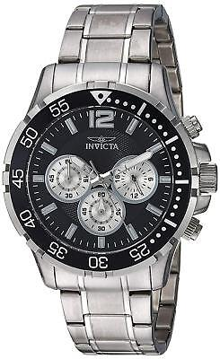 Invicta 23665 Specialty Men's Chronograph 45mm Stainless Steel Black Dial Watch